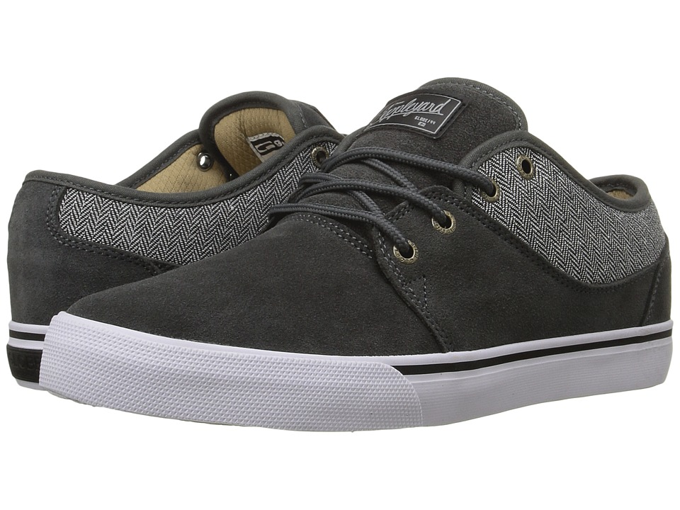 Globe - Mahalo (Charcoal/Herringbone) Men's Skate Shoes
