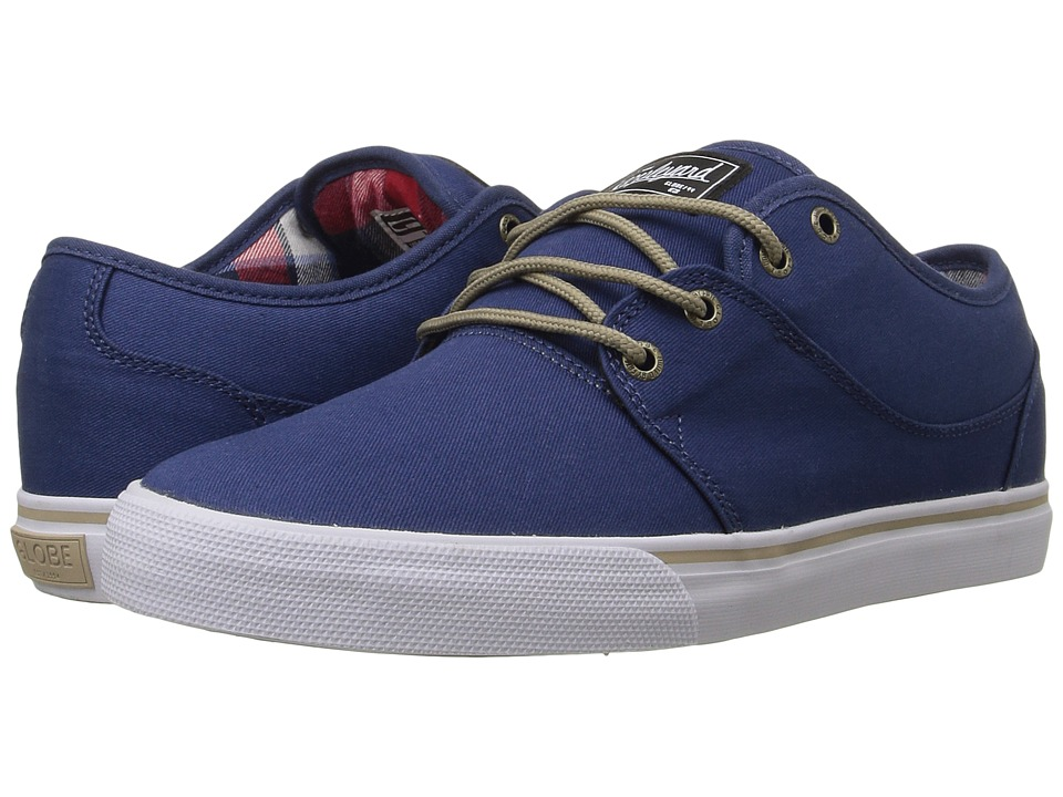 Globe - Mahalo (Navy/Tartan) Men's Skate Shoes