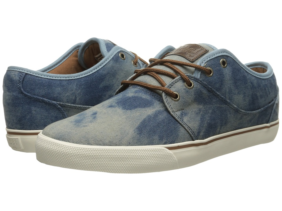 Globe - Mahalo (Washed Denim/Antique) Men's Skate Shoes