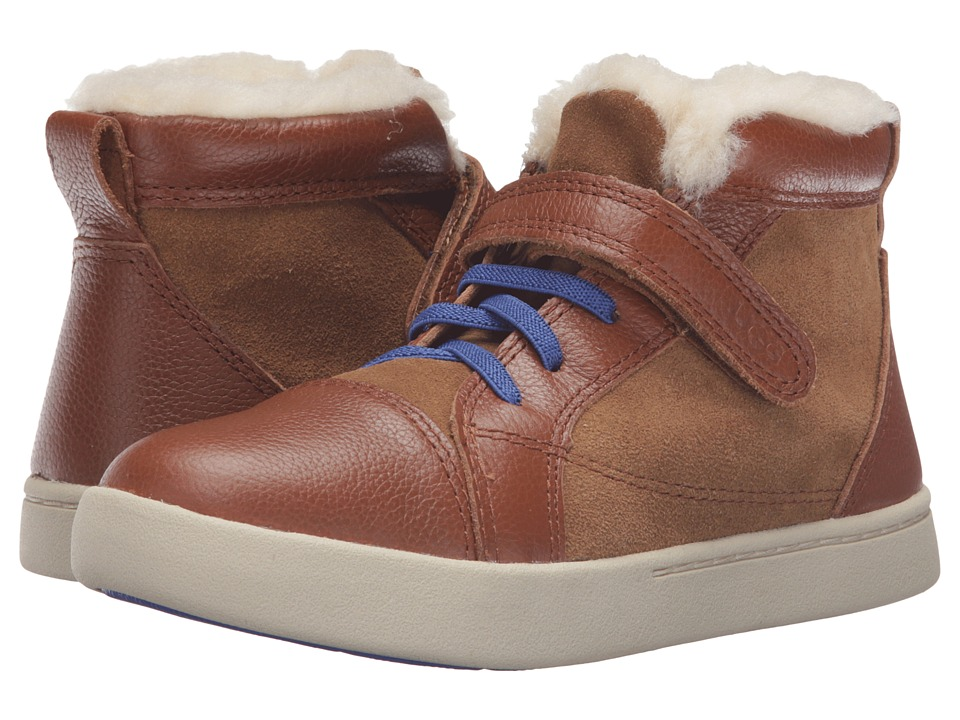 UGG Kids - Theron (Little Kid/Big Kid) (Chestnut) Kids Shoes