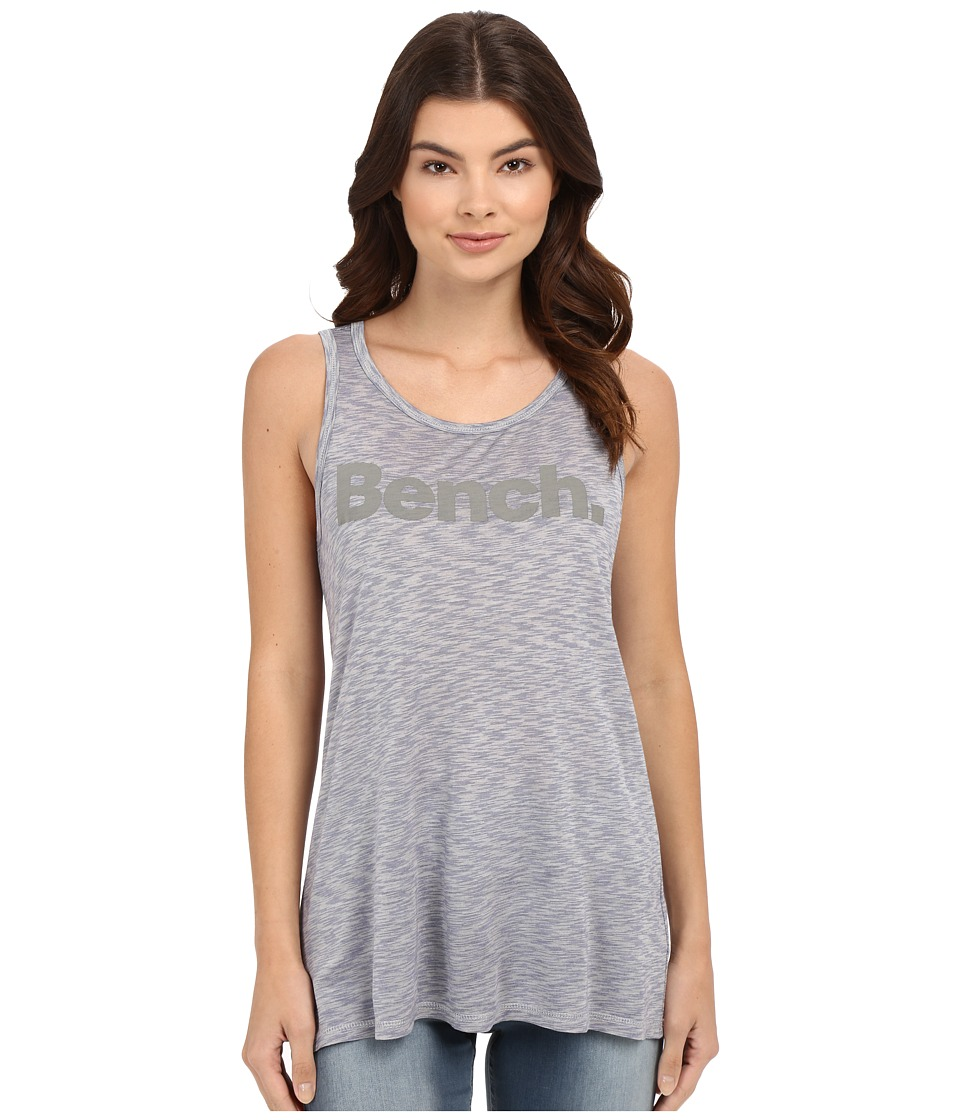 Bench - Citified Graphic Vest (Deep Cobalt) Women's Sleeveless