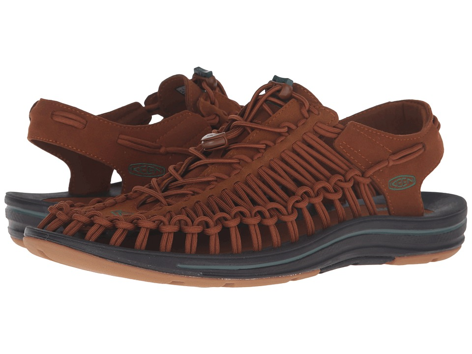 Keen - Uneek (Friar Brown/Fairway) Men's Shoes