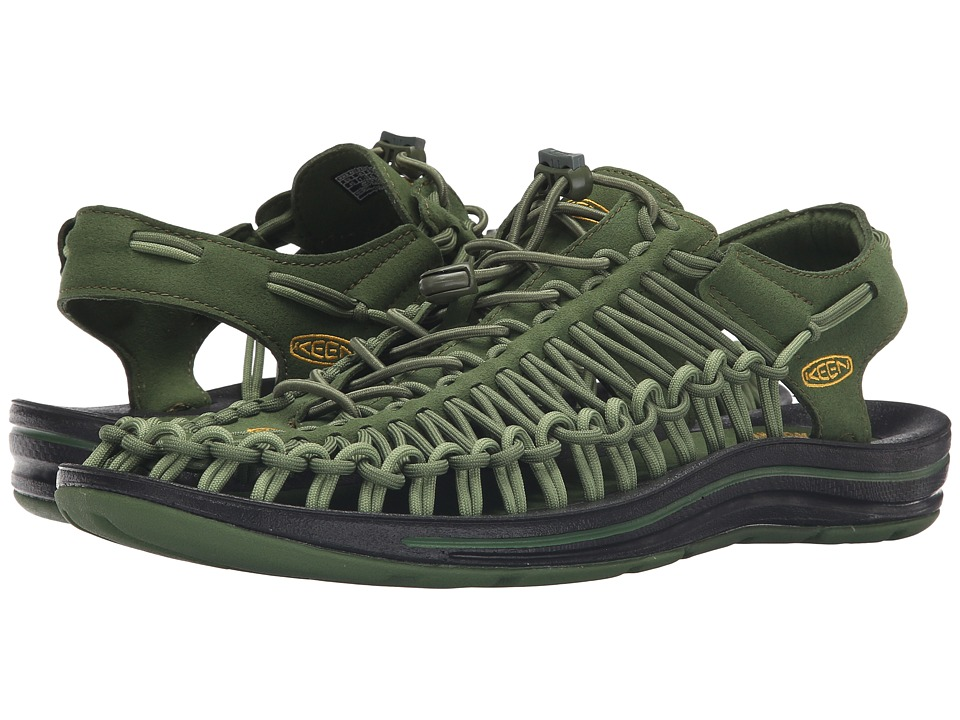 Keen - Uneek (Cypress/Cedar Green) Men's Shoes