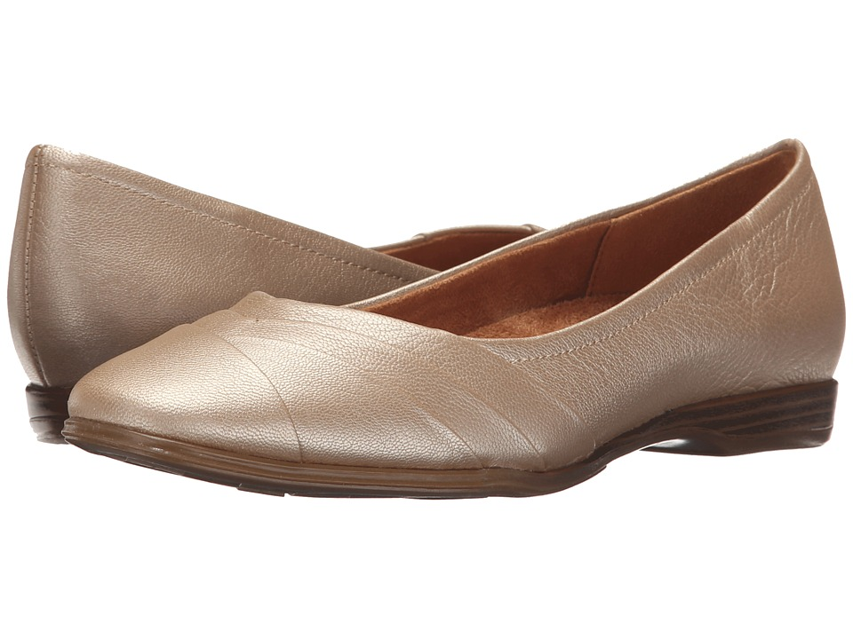 Naturalizer - Jaye (Gold) Women's Flat Shoes