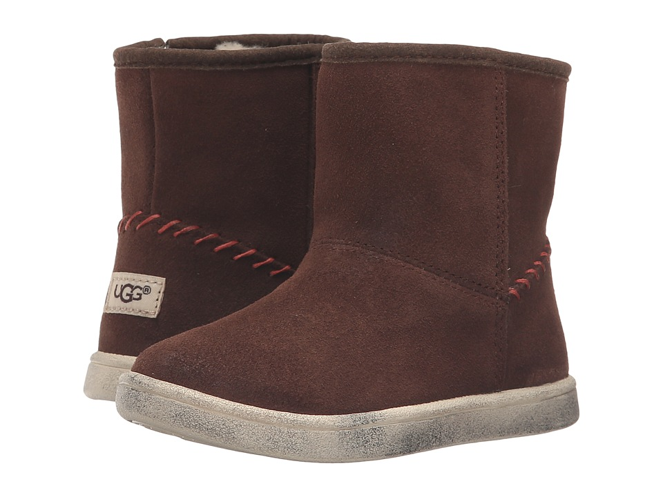 UGG Kids - Rye (Toddler/Little Kid) (Chocolate) Girls Shoes