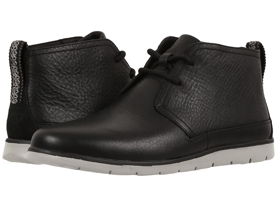 UGG - Freamon (Black) Men's Lace-up Boots