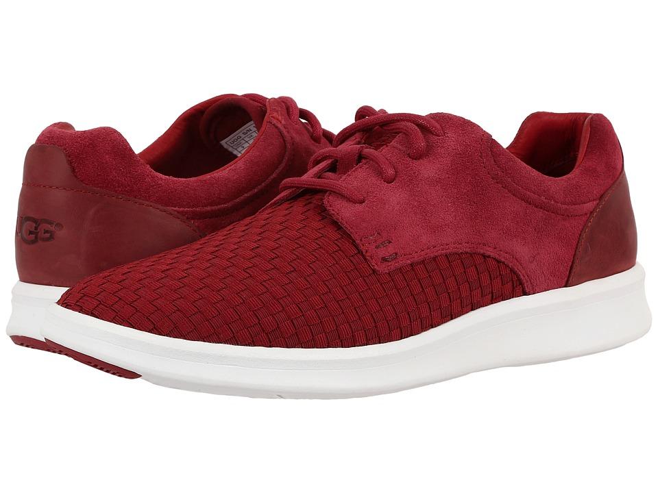 UGG - Hepner Woven (Timeless Red) Men's Shoes