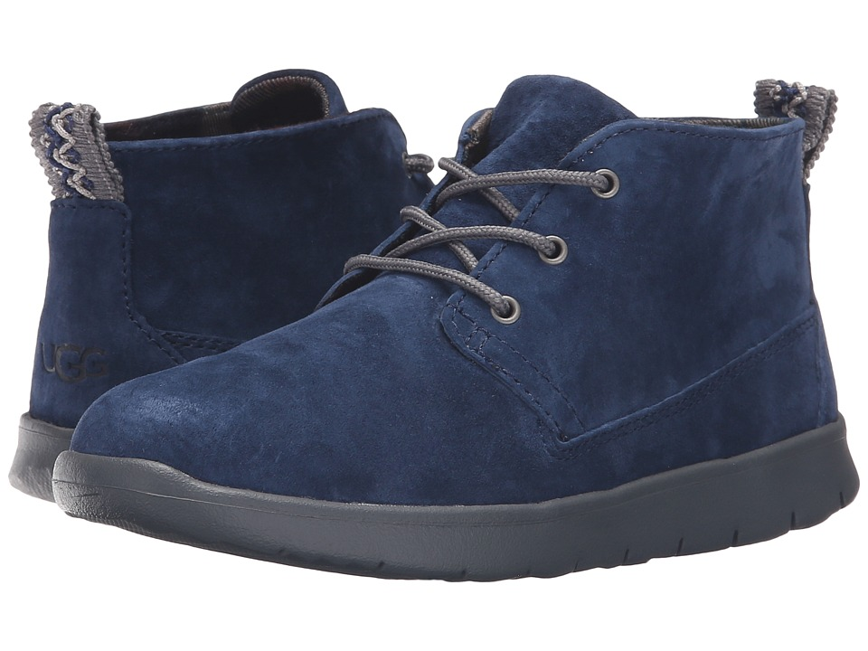 UGG Kids - Canoe Suede (Toddler/Little Kid/Big Kid) (New Navy) Boys Shoes