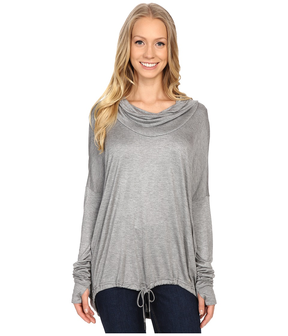 Bench - Highs Long Sleeve Top (Storm Cloud) Women's Long Sleeve Pullover