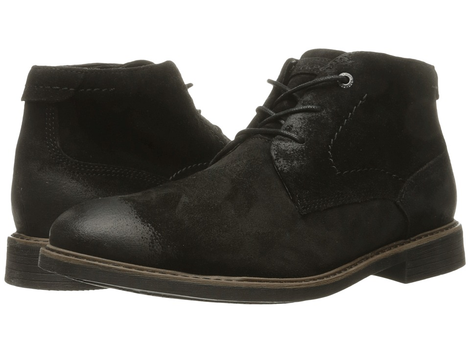 Rockport - Classic Break Chukka (Black Suede) Men's Boots