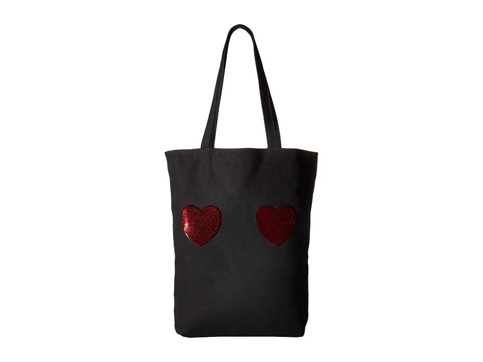 Marc Jacobs - Heart Tote (Black Multi) Tote Handbags
