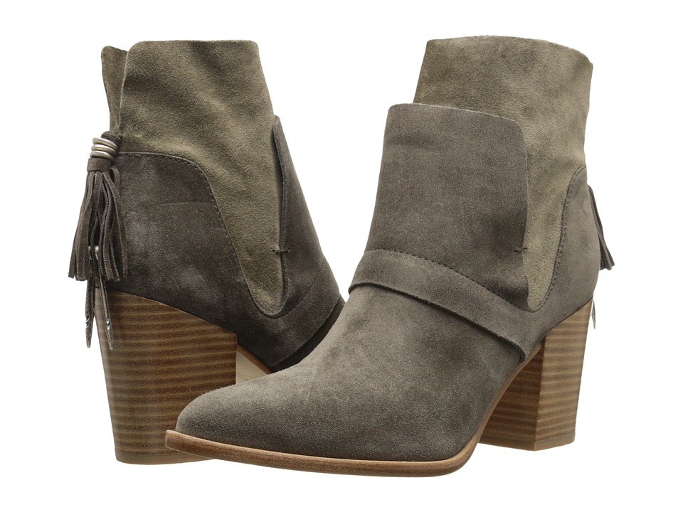 Sigerson Morrison - Gianna (Taupe Suede) Women's Shoes