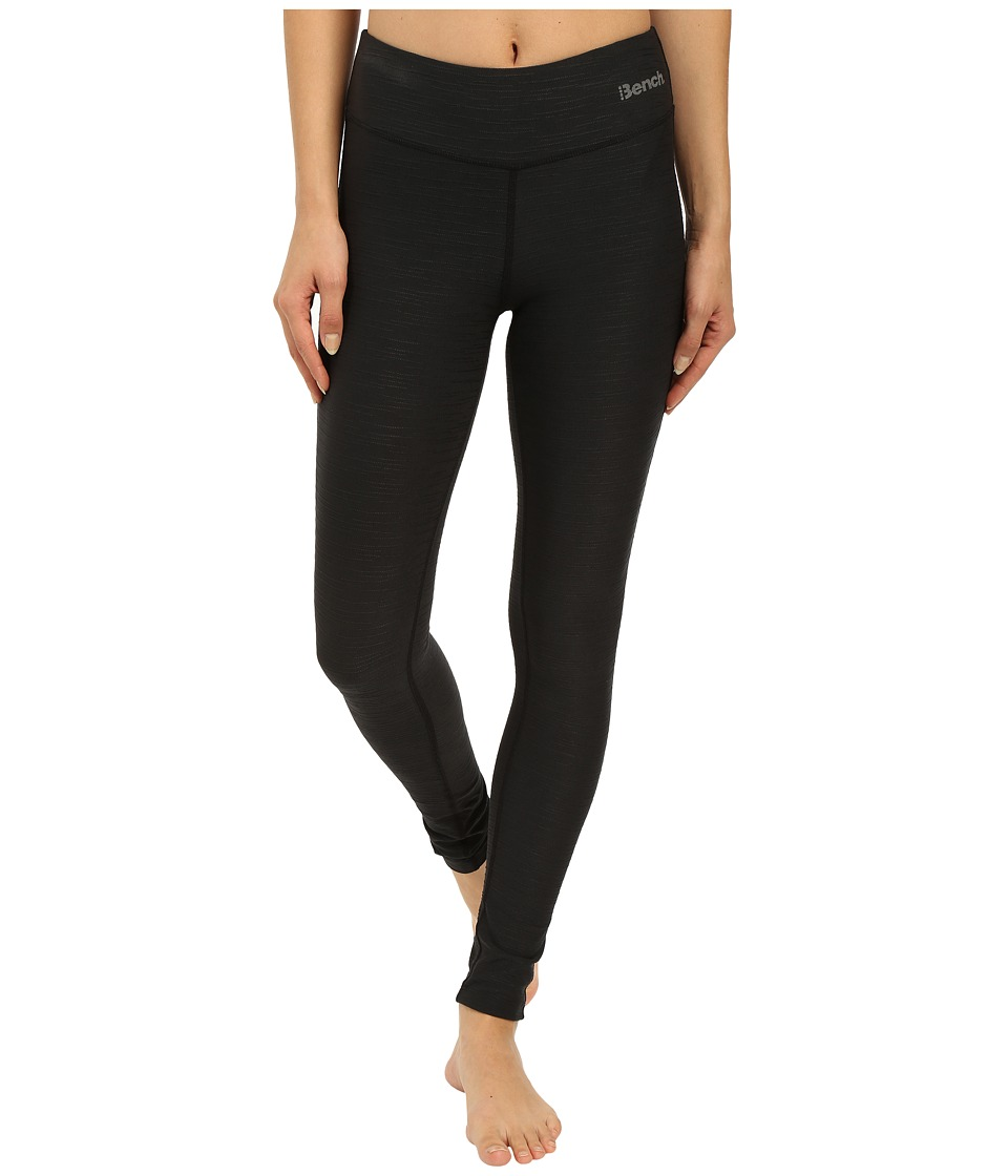 Bench - Baddah O Leggings (Jet Black) Women's Casual Pants