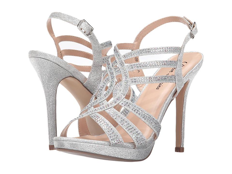 Lauren Lorraine - Vila (Silver) High Heels