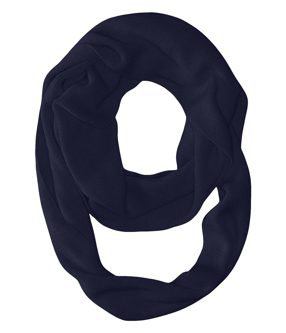 Coal - The Julietta Eternity Scarf (Navy) Scarves