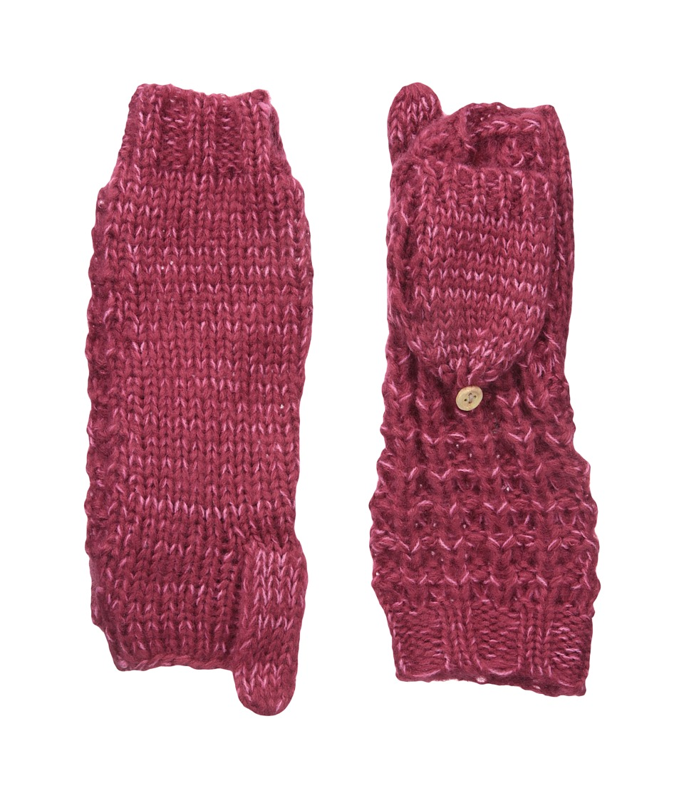 Coal - The Kate Mitten (Berry) Wool Gloves