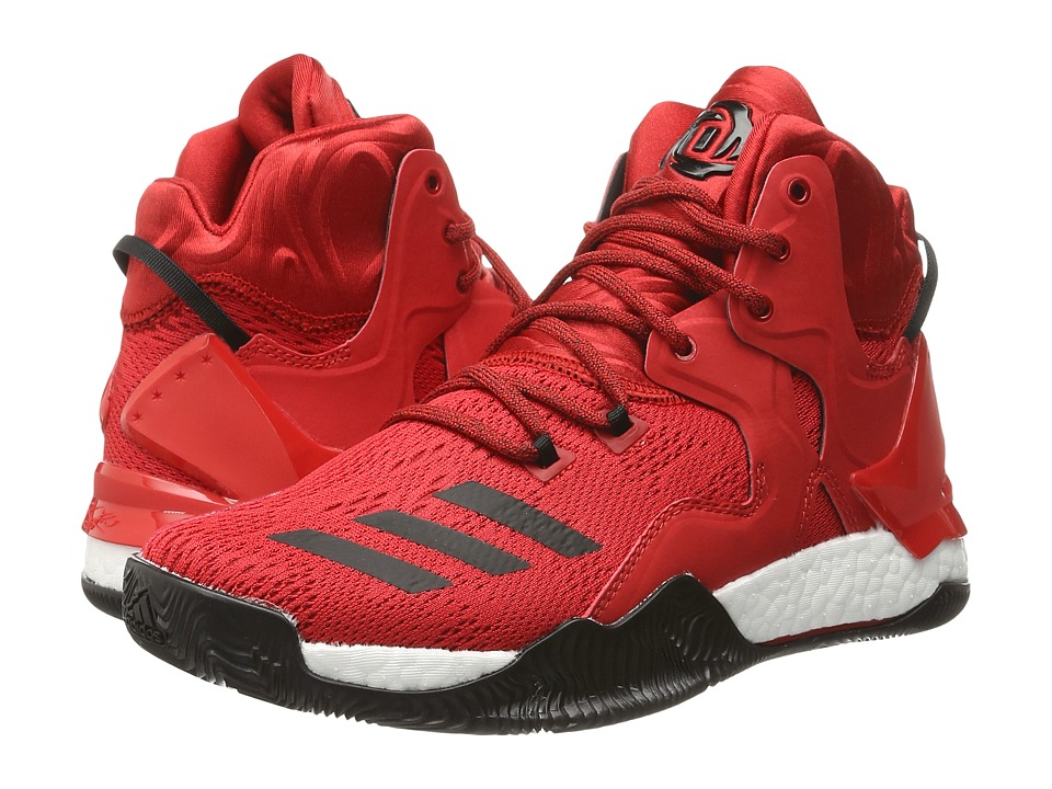 adidas - D Rose 7 (Scarlet/Core Black/WHite) Men's Basketball Shoes