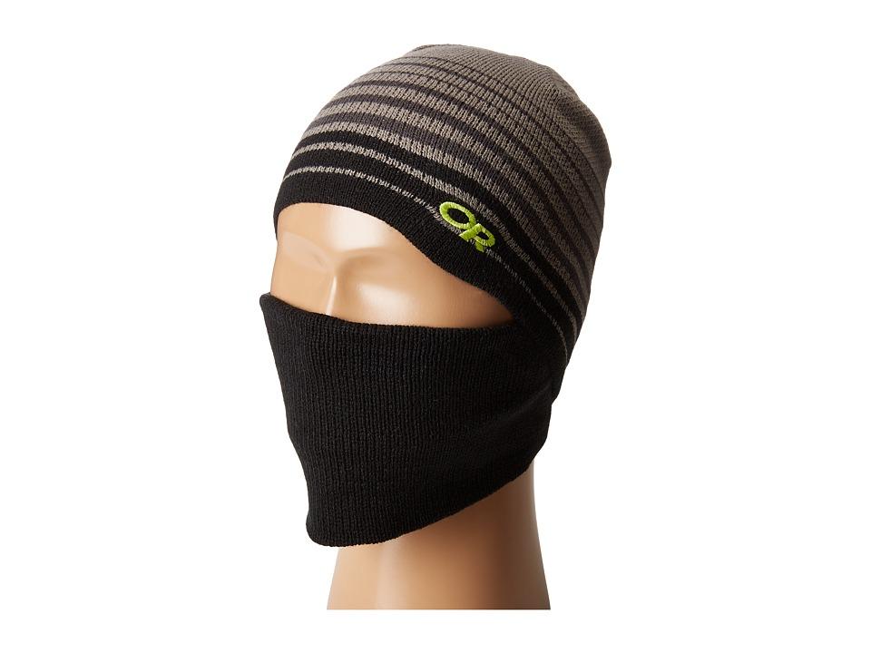 Outdoor Research - Adapt Facemask Beanie (Little Kid) (Black) Beanies