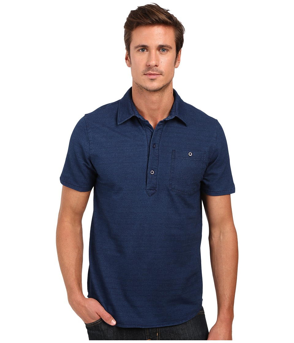 Threads 4 Thought - The Essex Popover Shirt (Rinse) Men's Clothing
