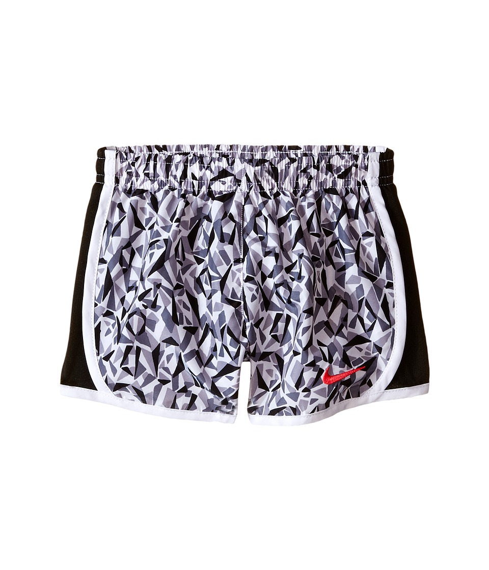 Nike Kids - Tempo AOP Shorts (Toddler) (White) Girl's Shorts