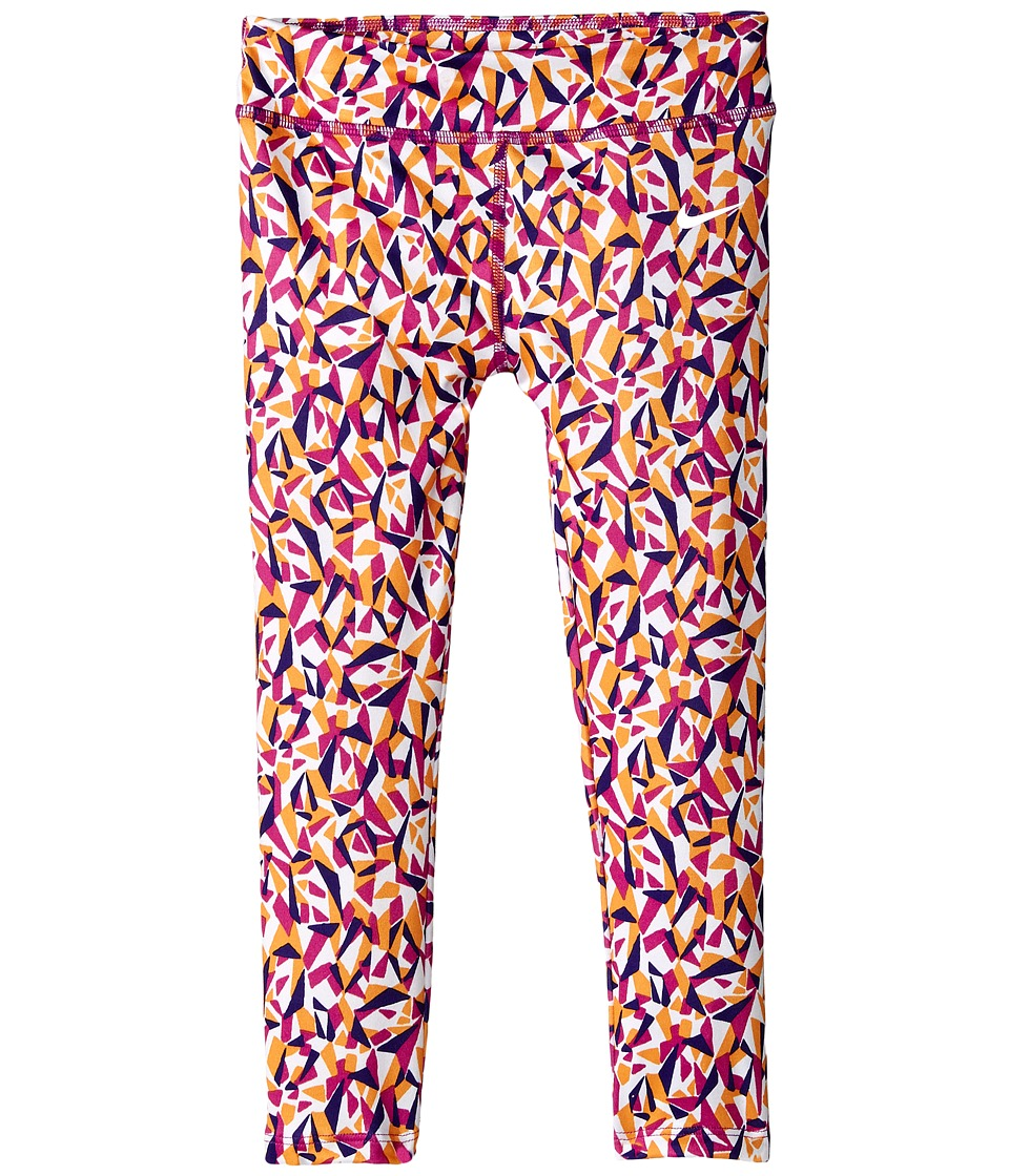 Nike Kids - Dri-FIT Essentials Allover Print Tight (Toddler) (Hyper Violet) Girl's Casual Pants