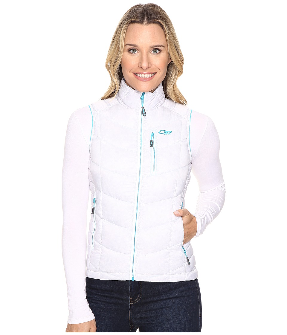 Outdoor Research - Sonata Vest (White/Typhoon) Women's Vest
