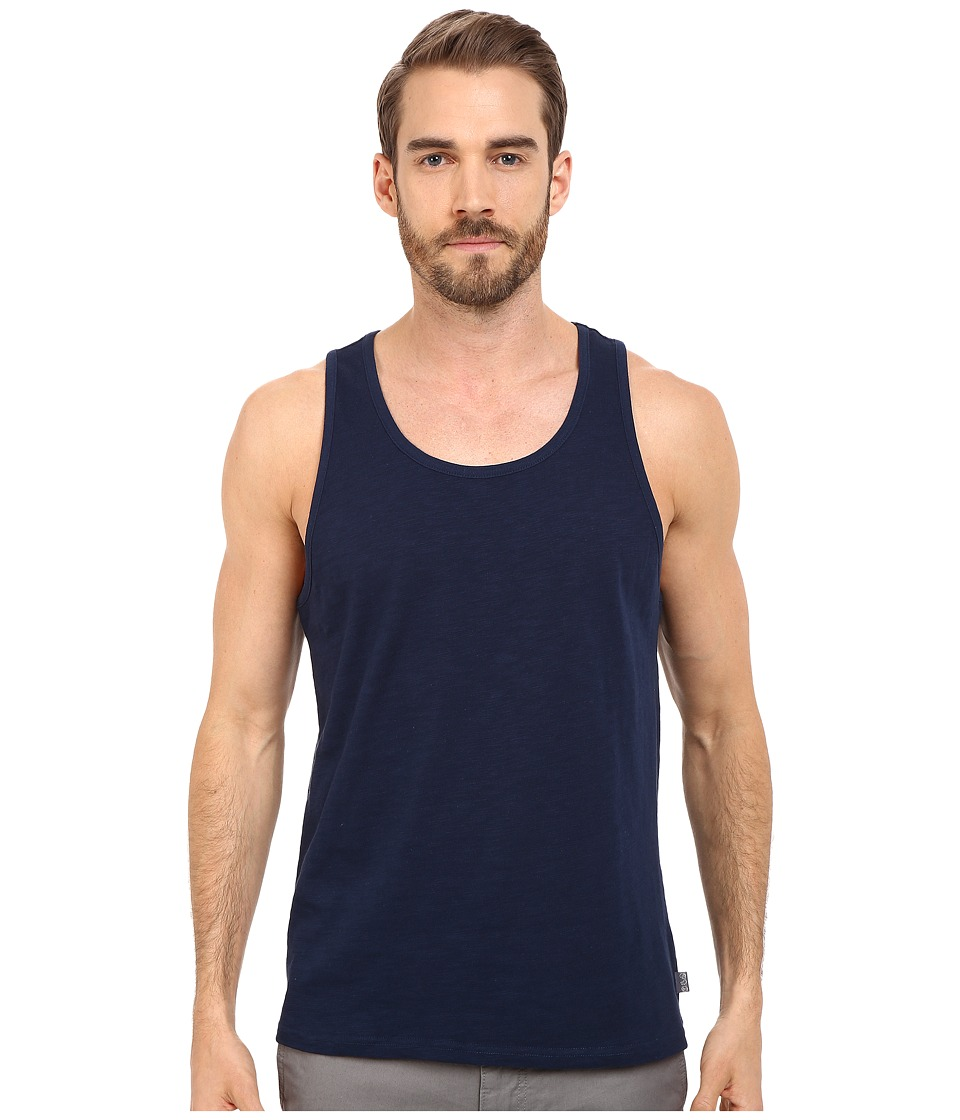 Threads 4 Thought - Baseline Solid Tank Top (Dark Berry) Men's Sleeveless