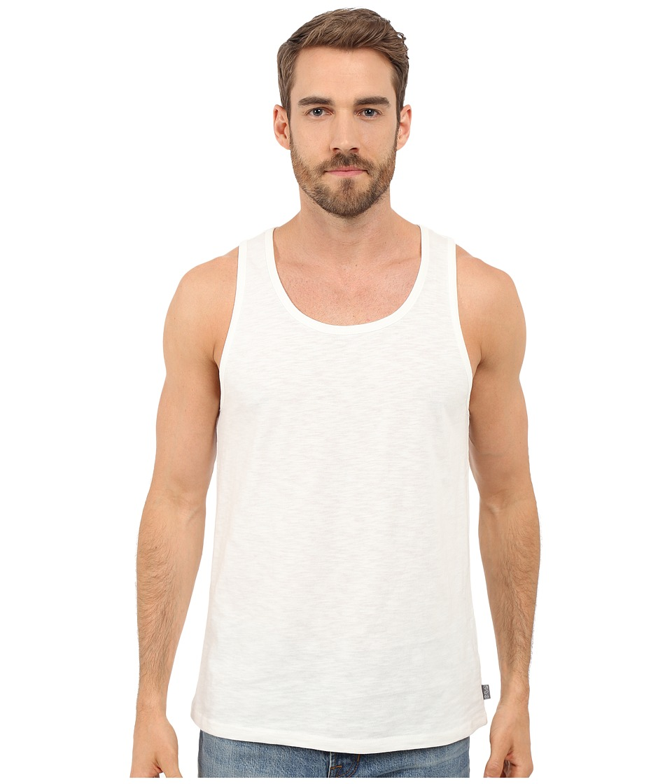 Threads 4 Thought - Baseline Solid Tank Top (White) Men's Sleeveless