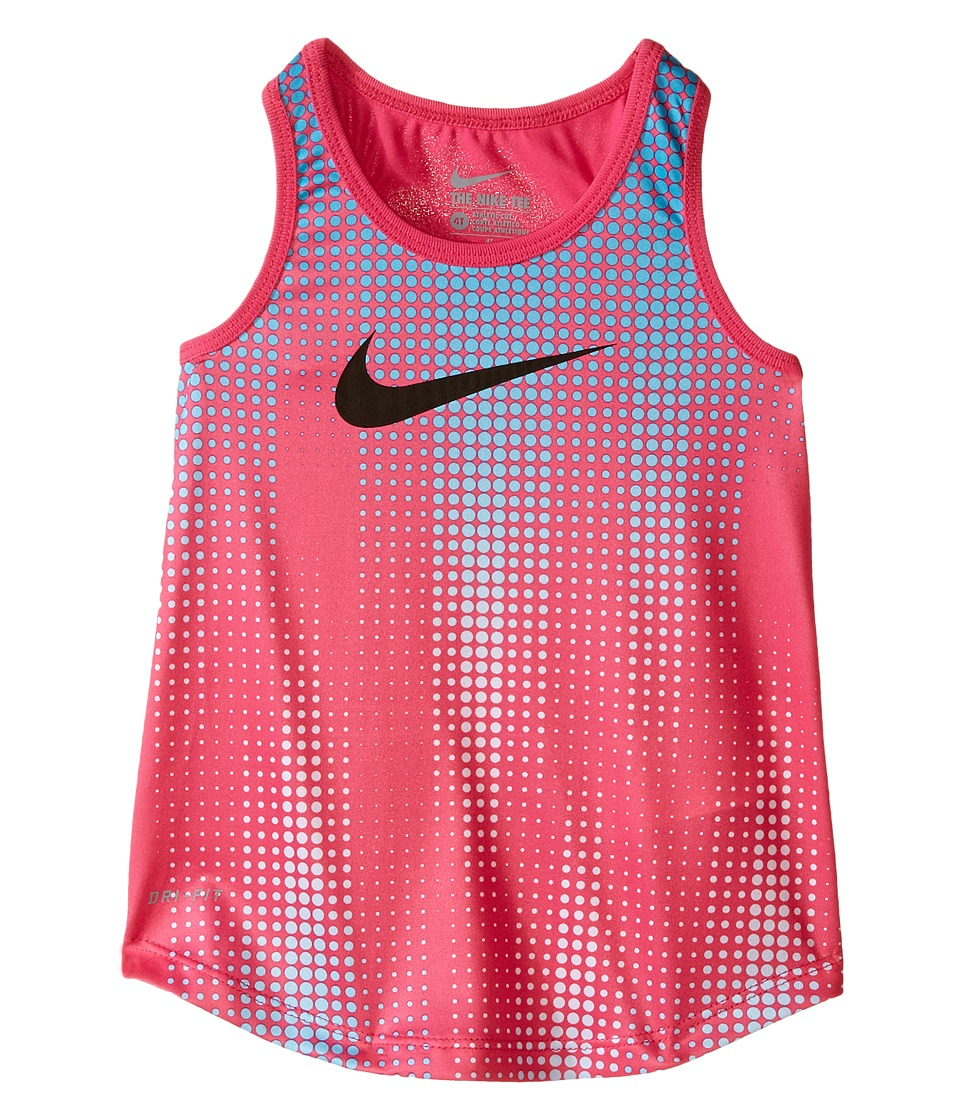 Nike Kids - Swoosh Dri-FIT A-Line Tank Top (Toddler) (Hyper Pink) Girl's Sleeveless