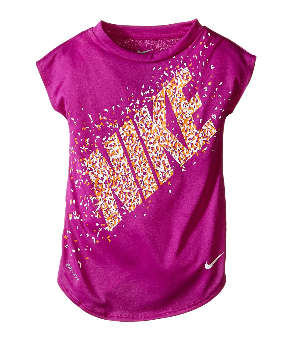 Nike Kids - Facet Dri-FIT Modern Tee (Toddler) (Hyper Violet) Girl's T Shirt