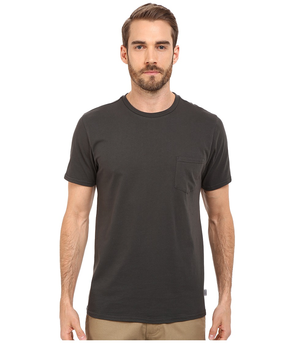 Threads 4 Thought - Baseline Pocket Crew Tee (Raven) Men's T Shirt