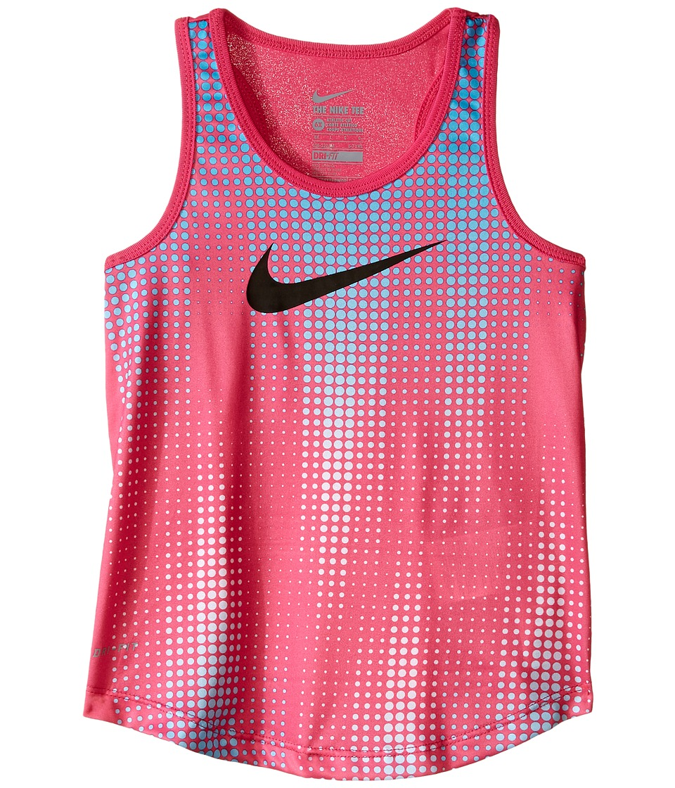 Nike Kids - Swoosh Dri-FIT A-Line Tank Top (Little Kids) (Hyper Pink) Girl's Sleeveless
