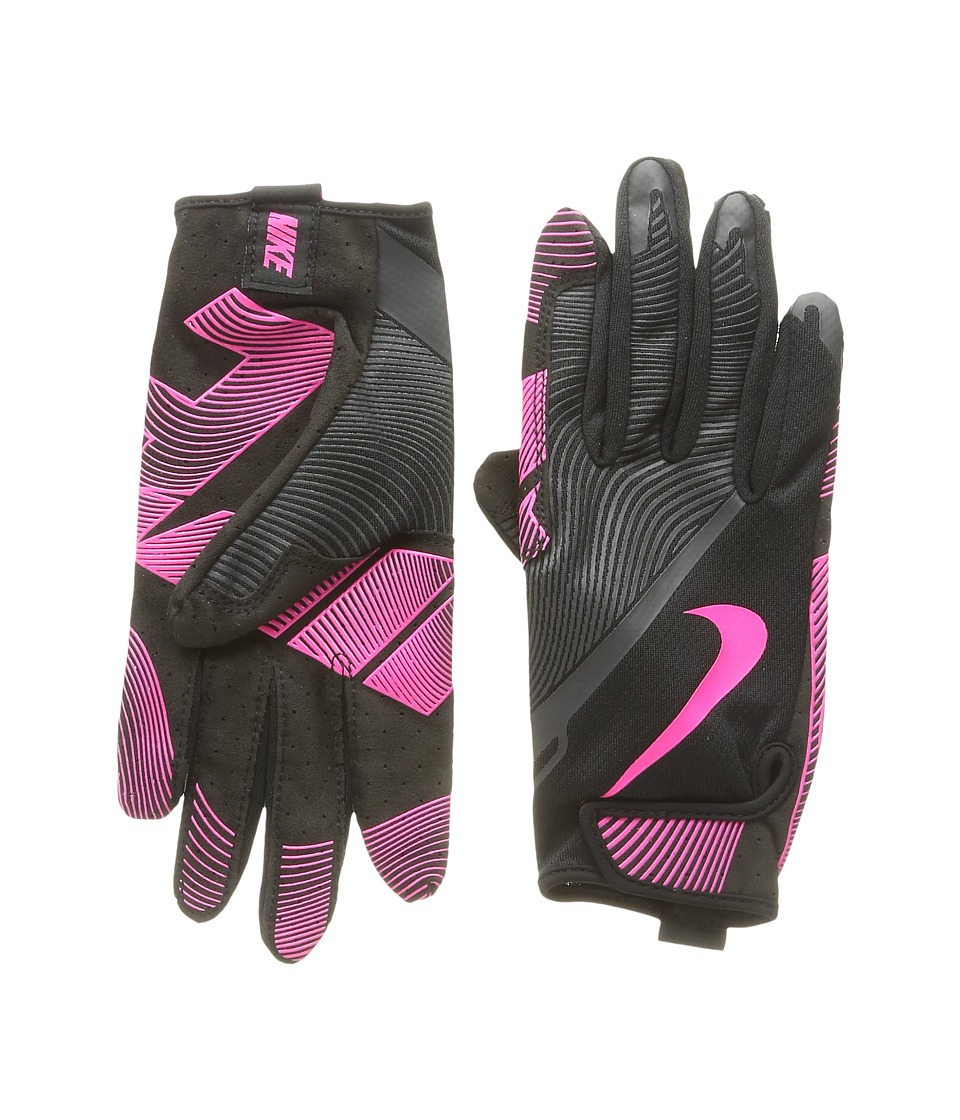 Nike - Lunatic Training Gloves (Black/Anthracite/Hyper Pink) Athletic Sports Equipment