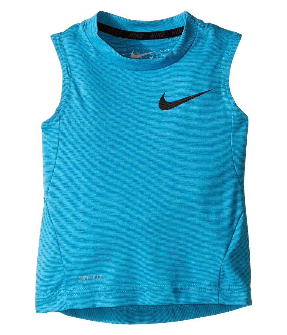 Nike Kids - Dri-FIT Training Sleeveless Top (Toddler) (Omega Blue) Boy's Sleeveless