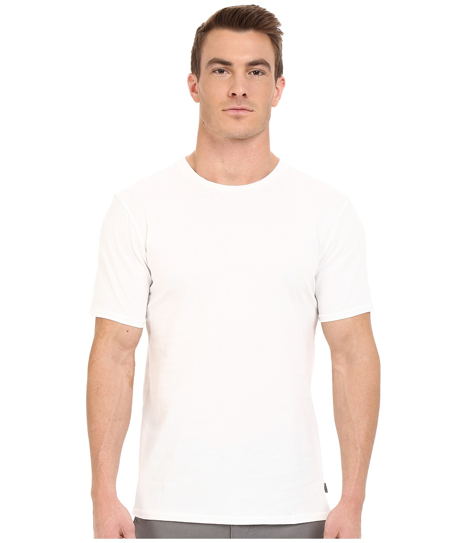 Threads 4 Thought - Baseline Cotton Crew (White) Men's Clothing
