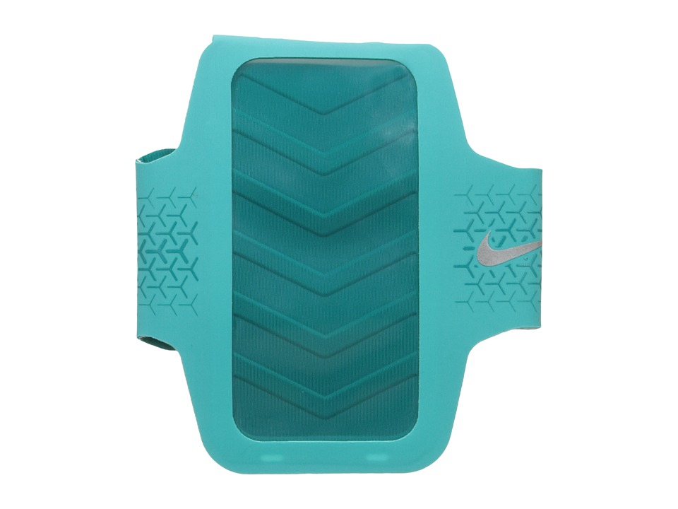 Nike - Challenger Arm Band (Hyper Jade/Rio Teal/Silver) Athletic Sports Equipment