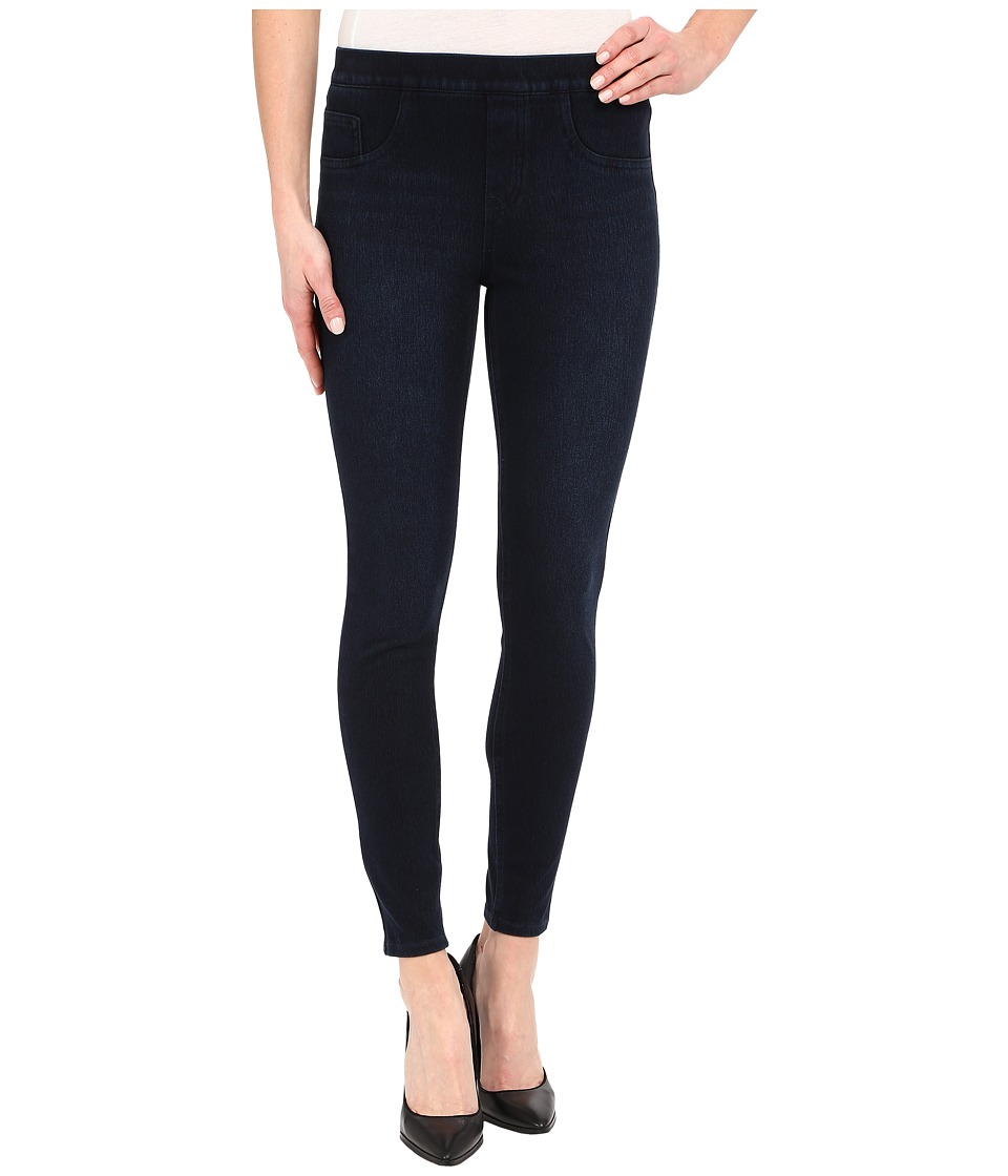 Spanx - Cut Sew Cropped Knit Leggings (Dark Indigo) Women's Clothing