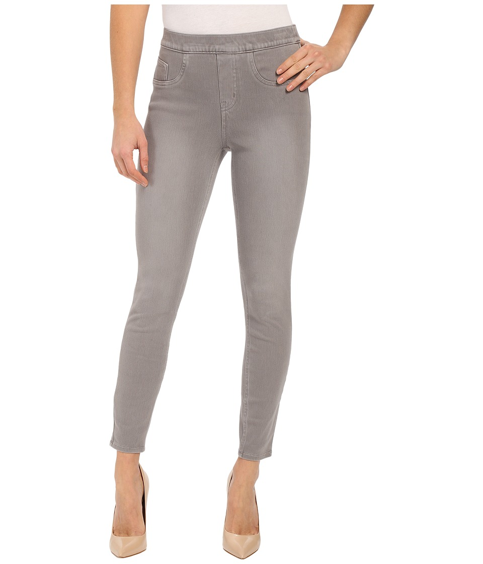 Spanx - Cut Sew Cropped Indigo Knit Leggings (Moon Grey) Women's Clothing
