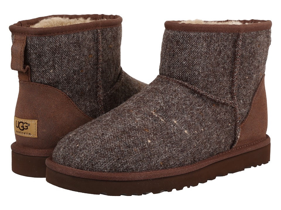 UGG - Classic Mini Donegal (Grizzly Donegal) Men's Boots