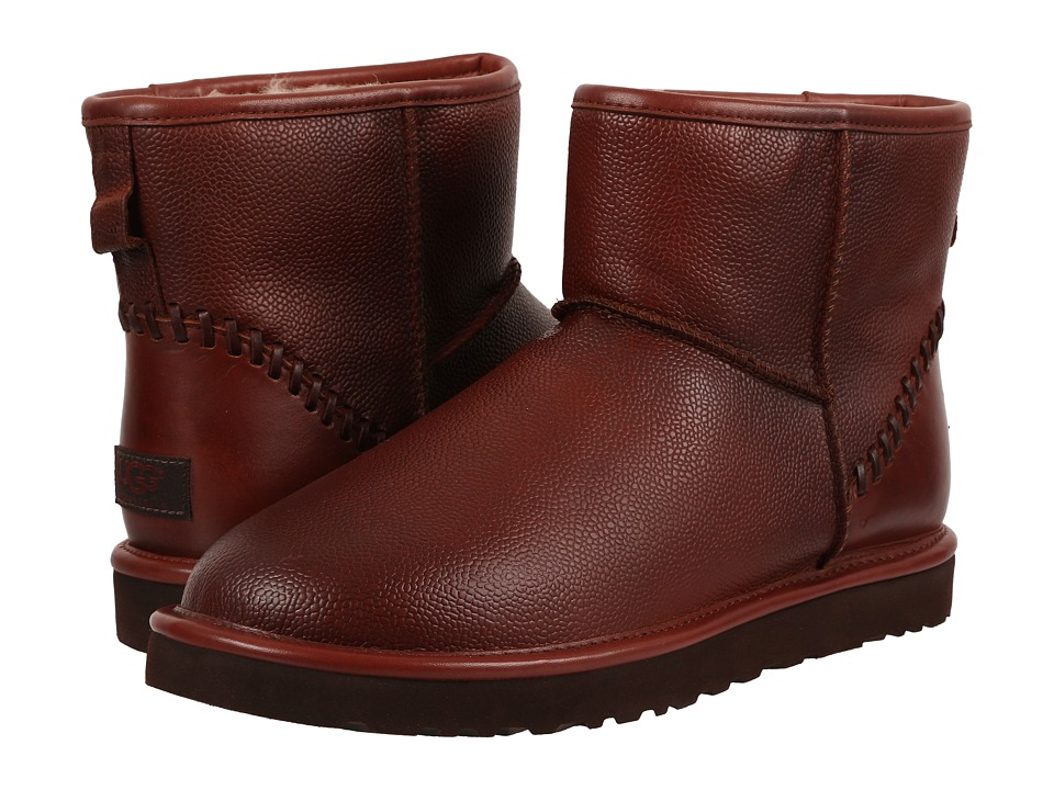 UGG Classic Mini Deco Scotch Grain (Cognac) Men