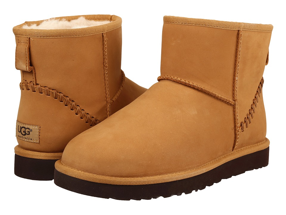 UGG - Classic Mini Deco Wheat (Wheat) Men's Boots
