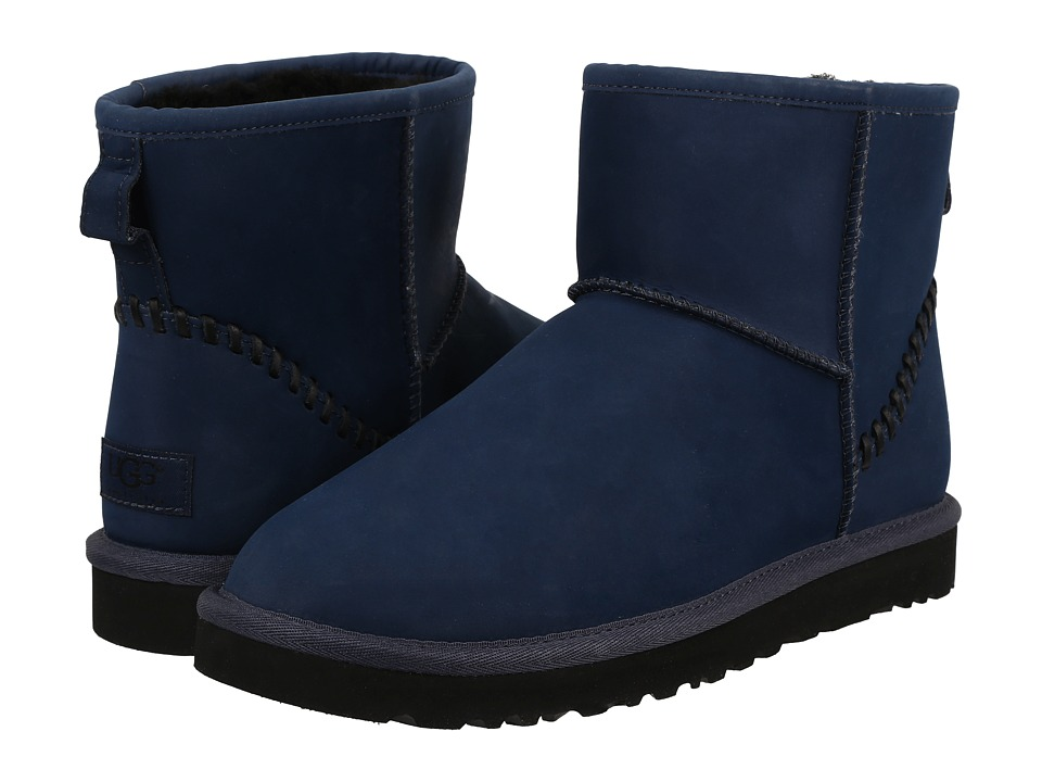 UGG - Classic Mini Deco (Navy) Men's Boots