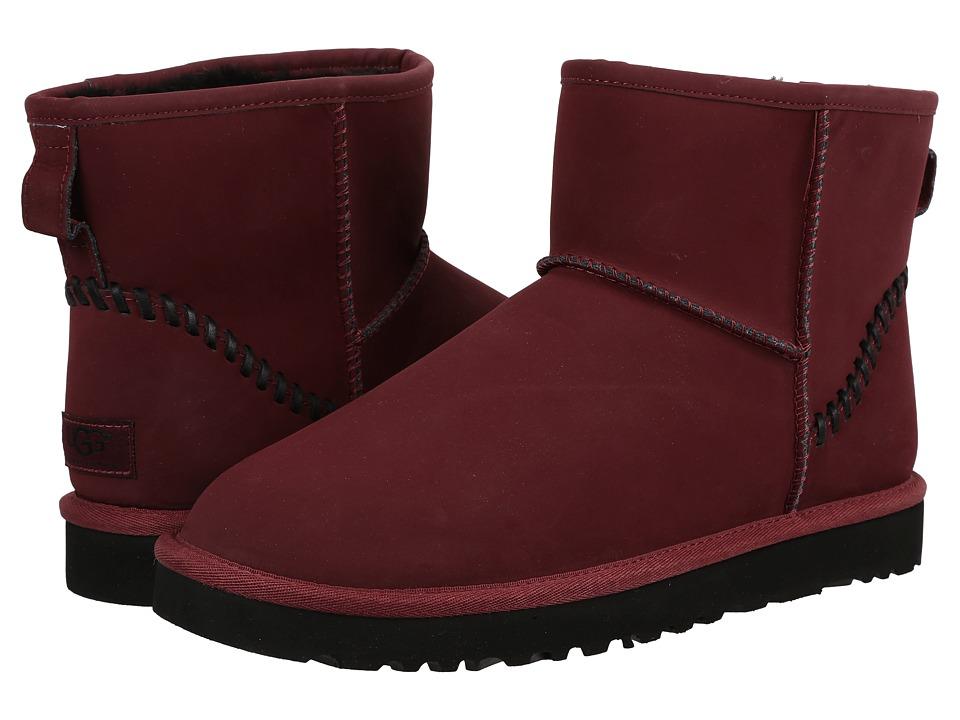 UGG - Classic Mini Deco (Cordovan) Men's Boots