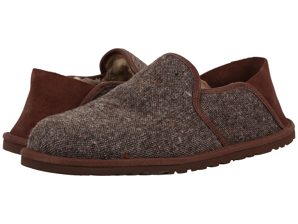 UGG - Cooke Donegal (Grizzly) Men's Slippers