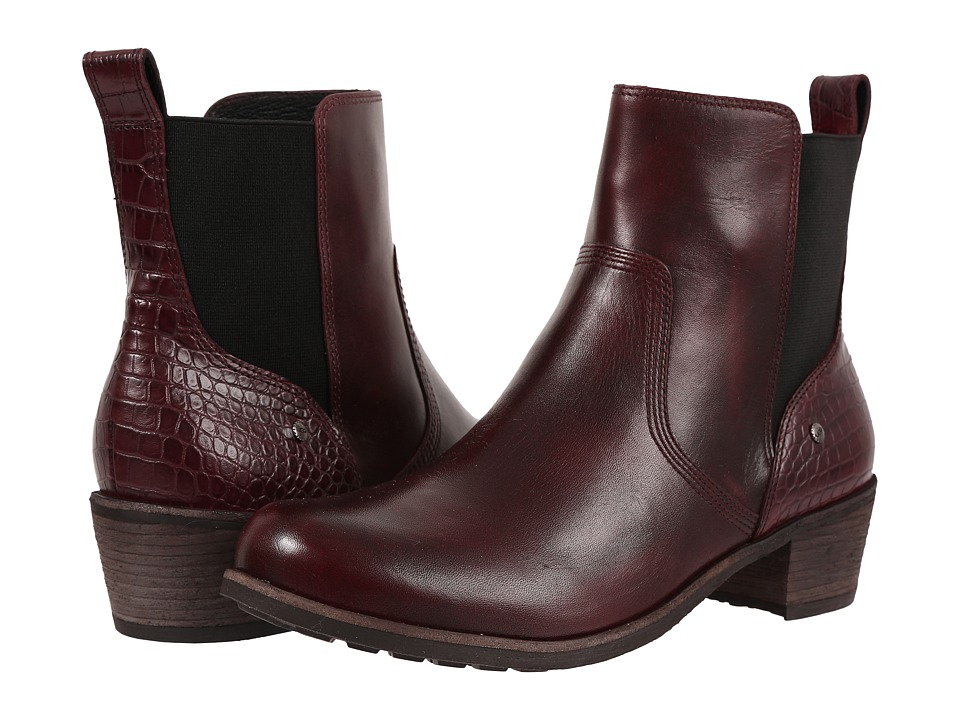 UGG - Keller Croco (Cordovan) Women's Boots