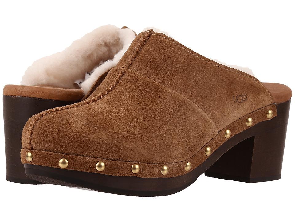 UGG Kassi Chestnut High Heels