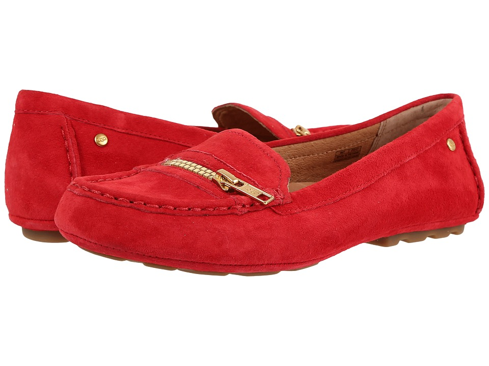 UGG - Davina (Lipstick Red) Women's Flat Shoes