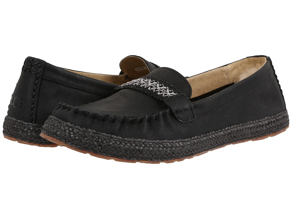 UGG - Kaelee (Black) Women's Flat Shoes
