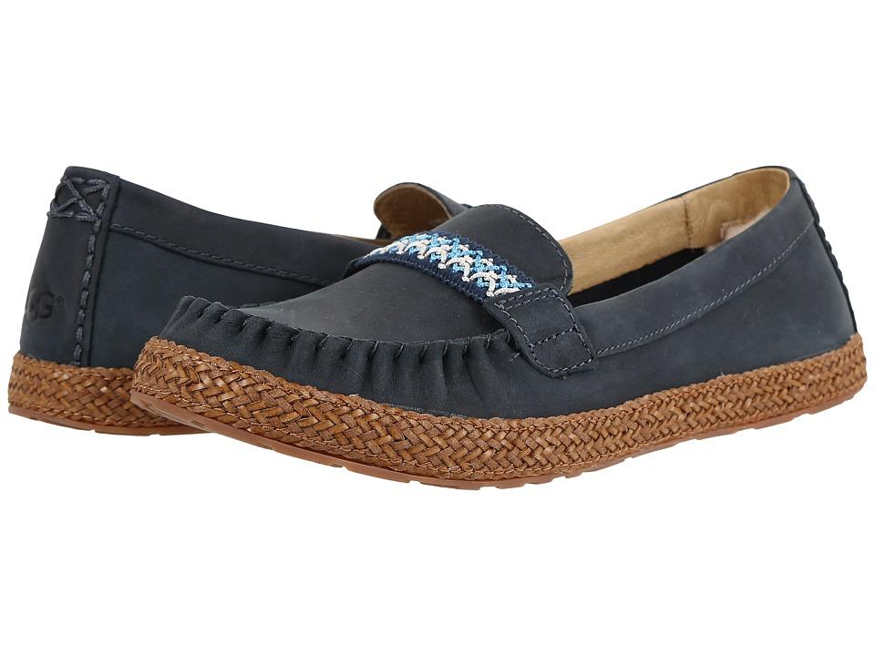 UGG - Kaelee (Navy) Women's Flat Shoes