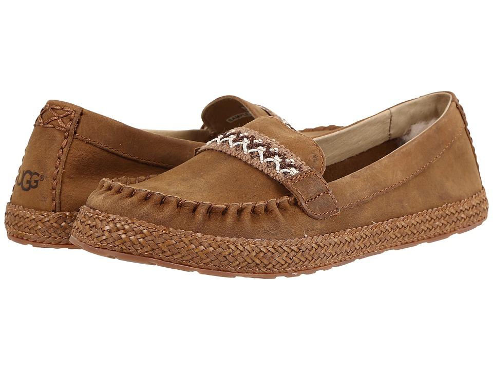 UGG - Kaelee (Chestnut) Women's Flat Shoes